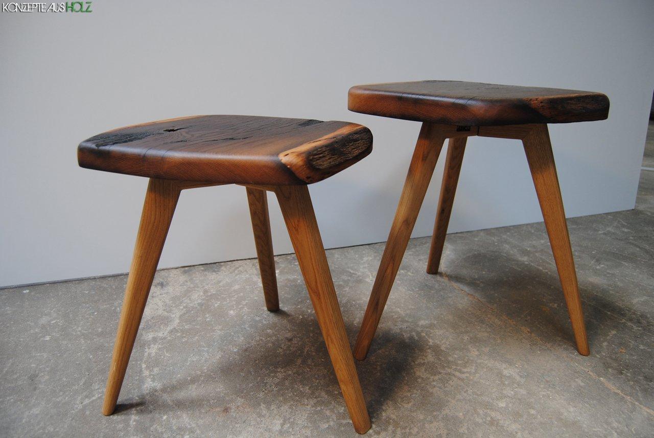 Gartenmobel Polyrattan Edelstahl : Das Tischgestell ist aus Eiche hell und greift das Design der 5060er