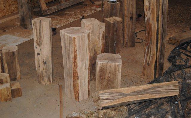 Gartenmobel Polyrattan Edelstahl : Kerzenständer  Konzepte aus Holz