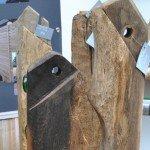 Steele aus über 200 Jahre altem Eichenholz