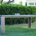 Gartentisch aus Fichte